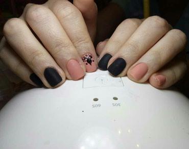 Маникюр,наращивание ногтей гелем,гель лак в Бишкек