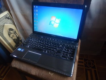 Bakı şəhərində Toshiba p755 (core i7 +4 gb nvidia videokart) noutbuku əla işləyir