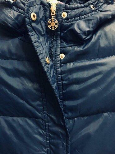 детская куртка зимняя в Кыргызстан: Детская зимняя куртка 100%пух на 8-10 лет