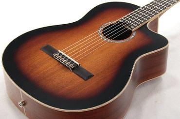 CORDOBA Klassik gitara 🏷Model: C4-CE canta hediyye