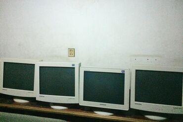 Monitorlar - Azərbaycan: 15 manitordan 9u qalip iwlekdir hec bir prab yoxdur wp cativdir