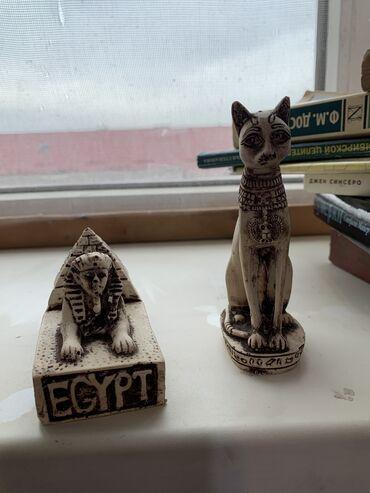 Две статуэтки из Египта. Отдам обе за 500 сом