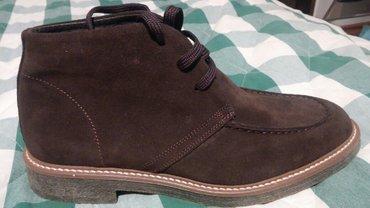 Мужские ботинки,привезли  из Италии,большемерки,деми,замша,39 размер,  в Бишкек