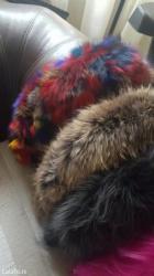 Jakne-za - Srbija: Nova prirodna krzna za kapuljacu ili okovratnik jakne crno krzno