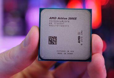 Процессоры в Кыргызстан: Процессор AMD Athlon 200GE-2 ядра; 4 потока. -Семейство Ryzen. На нем