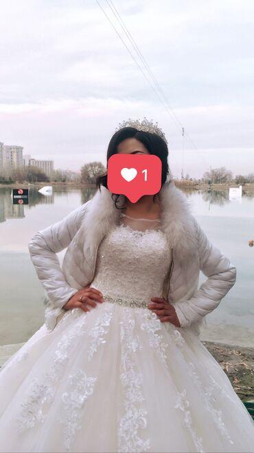 продадим куклу в Кыргызстан: Продадим свадебное платье. Цвет нежный бело-пудровыйВ комплекте есть