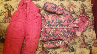 Зимняя куртка на девочку. На 3-4года комплект : куртка, желетка можно