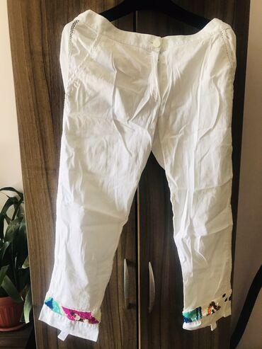 Женская одежда - Милянфан: Летние нарядные брюки.Италия.Бренд Моника Магни.Размер 44-46