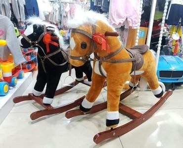 Лошадки качалки в Бишкек