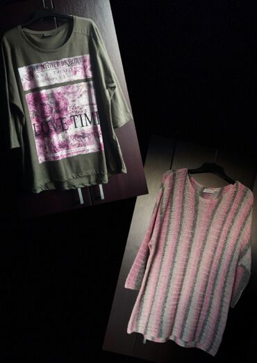 Preko grudi - Srbija: Dve nove C&A bluze, veličina XL (poluobim u predelu grudi 60cm