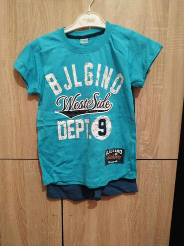 Наборы футболки с шортами для мальчиков 7-10 лет хлопок 100% привезены