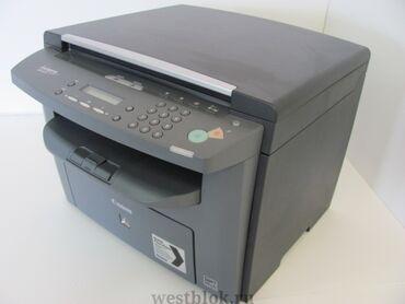 Принтер Canon MF4018. 3 в 1 - ксерокопия, сканер, печать. Все функции