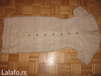Haljina od sirove svile, šiven , veličina s, dva puta obučena. - Obrenovac