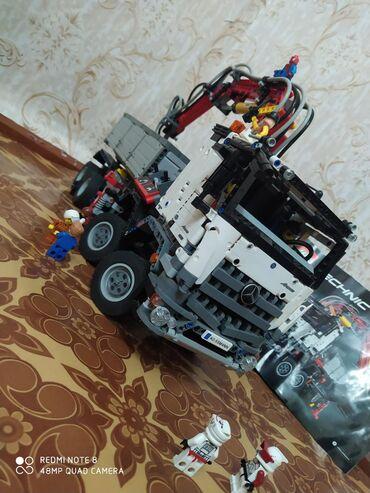 lego technic volvo l350f в Кыргызстан: Продаю самосвал Мерседес LEGO TECHNIC номер модели:42043. Был