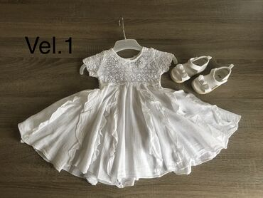 Decije haljine - Indija: Vel 86 haljina za bebe devojcice.Uz haljinu se mogu kombinovati ove