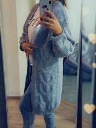 серебристый свитер в Кыргызстан: Кардиган ) стандартный