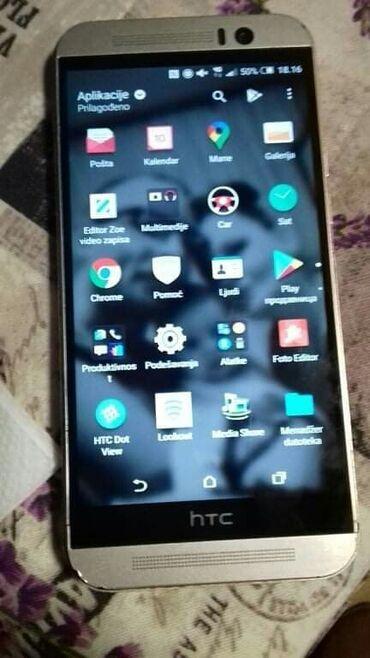 Mobilni telefon HTC one m9 zlatne boje Dual sim 3gb rom memorije 32gb