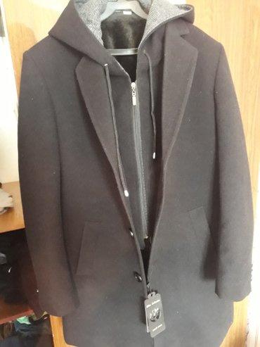 продам стильный молодежный мужской пальто,можно снять капюшон как и пи в Бишкек