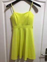 Neon žulta mini haljinica , veličina S - Belgrade