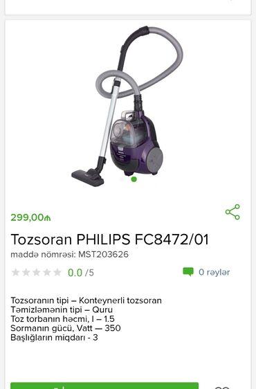 Tozsoran PhilipsTam zəmanətləNəğd və 1 kartla ödənişEvdən birbaşa