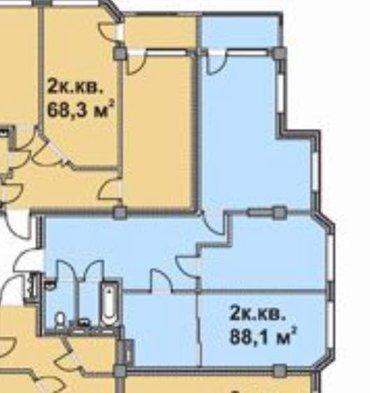 очень срочно продаю 2х комнатную квартиру в элитном доме! застройщик е в Бишкек - фото 2