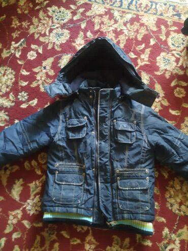 Куртка на мальчика состояние отличное 5-6лет