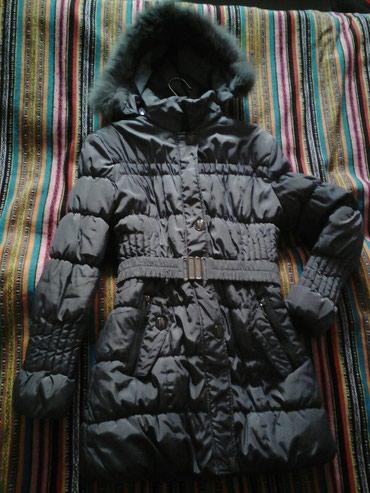 Зимняя серая куртка , размер 40-42 состояние отличное в Бишкек