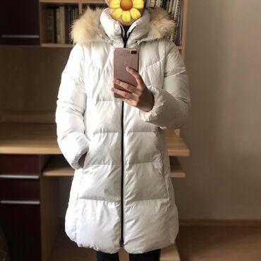 Брендовая куртка Arena (гусиный пух, натуральный мех). Состояние