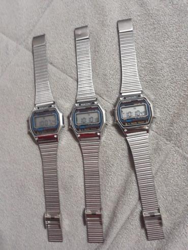 Digitalni muški satovi...sat,datum,štoperica,svetlo. Cena 400 dinara - Smederevska Palanka