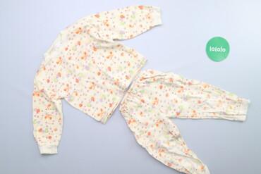 Дитяча піжама з принтом   Довжина кофтини: 34 см Рукав: 30 см Ширина