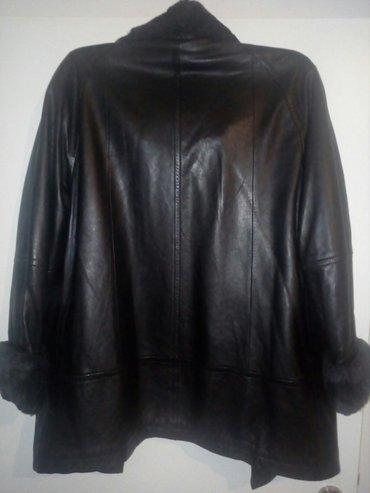 Zenska jakna od fine mekane koze sa krznom koje se skida moze svaki do - Beograd