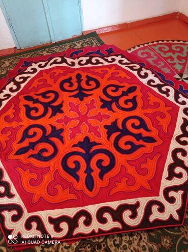 т т к н 2 класс в Кыргызстан: Натуральные коврики 2-шт.диаметр1,05м.из войлока.Цена-за штуки