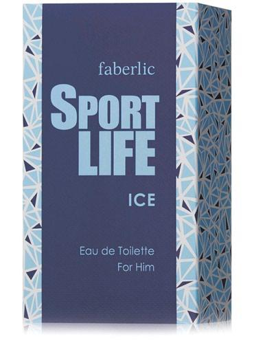 Мужская туалетная вода Sport life Ice. От #Фаберлик. Мужской парфюм. в Бишкек