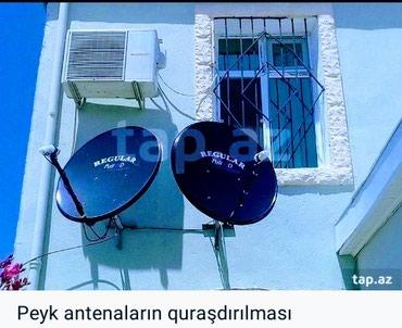 Bakı şəhərində Krosna,Peyk antena Ustasi.