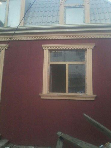 ev villa - Azərbaycan: Fasad işleri. ferdi yasayıs evleri obyekt villa bina evleri ve