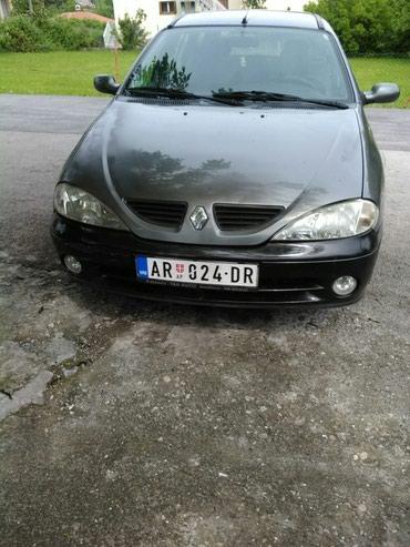 Renault | Arandjelovac: Renault Megane 1.9 l. 2002 | 250000 km
