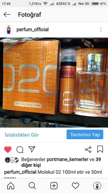 Xırdalan şəhərində Molekul etir perfum official