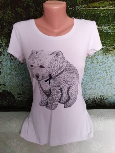 Классная футболочка в новом в Кок-Ой