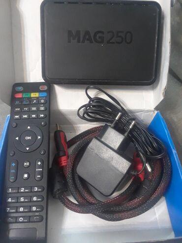Продаю приставку MAG250 настроенный на ЗОР ТВ в полном комплекте