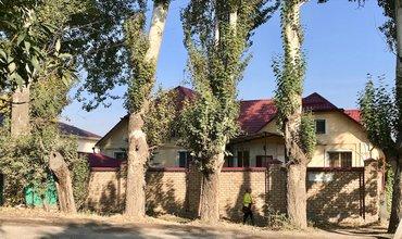 Продается дом с действующим бизнесом. Кирпичный дом и забор в Бишкек