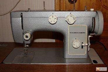 """электрическая машинка в Кыргызстан: Швейная машинка """"Чайка"""", со столом, складывающаяся. Как механическая"""
