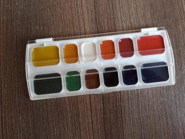 АКВАРЕЛЬНЫЕ🖌 краски для рисования  12 цветов  в Бишкек