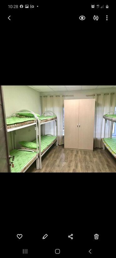 хостел в бишкеке in Кыргызстан | ОТЕЛИ И ХОСТЕЛЫ: 4 комнаты, Душевая кабина, Постельное белье, Кондиционер, Без животных