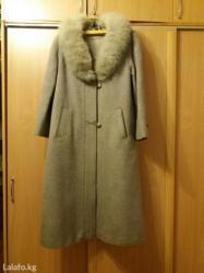 пальто лама в Кыргызстан: Продаю зимнее пальто лама. турция. размер 44.  Г. Бишкек, мкр асанбай