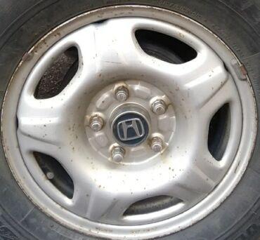 4 114 3 диски в Кыргызстан: Комплект дисков 4 шт. Хондовские оригинал 5*114.3. стояли на срв