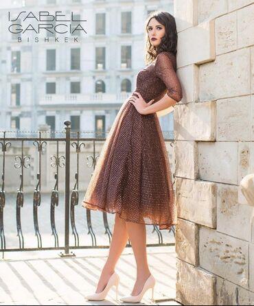 платье рубашка для полных в Кыргызстан: Пышное миди платье от isabelagarsia размер S-M покупала за 13000, одев