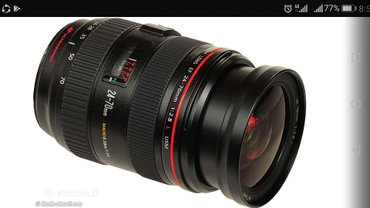 Продаю объектив Canon 24-70 f 2.8 L. in Бишкек