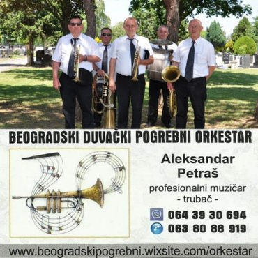 Trubači Obrenovac fanfare pogrebi sahrane - Obrenovac
