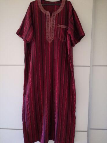 Haljine | Bajina Basta: Haljina za punije osobe iz uvoza. Ravan kroj. Dužina 139, poluobim
