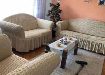Kuća i bašta - Kostolac: Prekrivači za trosed,dvosed i fotelju od veoma kvalitetnog materijala